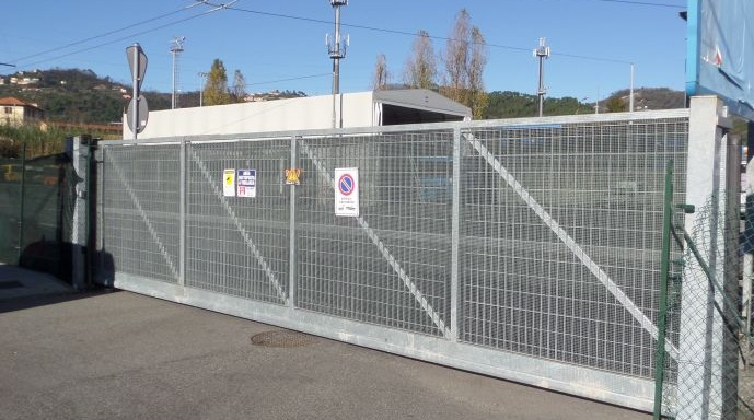 automazione cancello scorrevole Kopron Chiavari